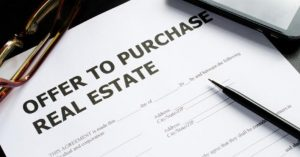 offer to purchase real estate in North Carolina