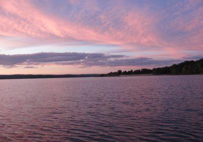 Озеро Джордан… (Jordan Lake near Apex, NC)